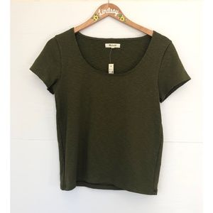 Madewell Olive Green Top